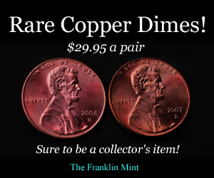 "Fake ad for ""copper dimes"""