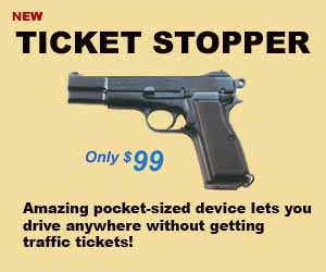 Ticket Stopper ad