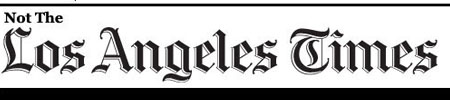 Not The L.A. Times logo