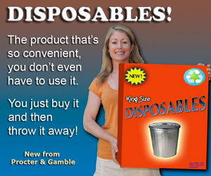 Disposables ad