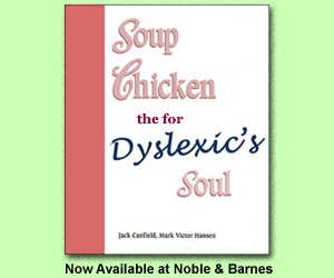 Soup chicken the for dyslexic soul ad