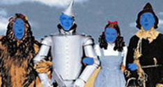 Blue Man Wiz of Oz